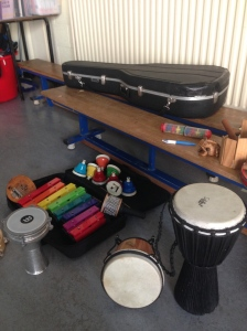 instruments employed in our arrangements