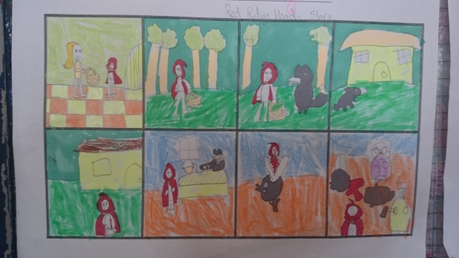Red Riding Hood Story 1