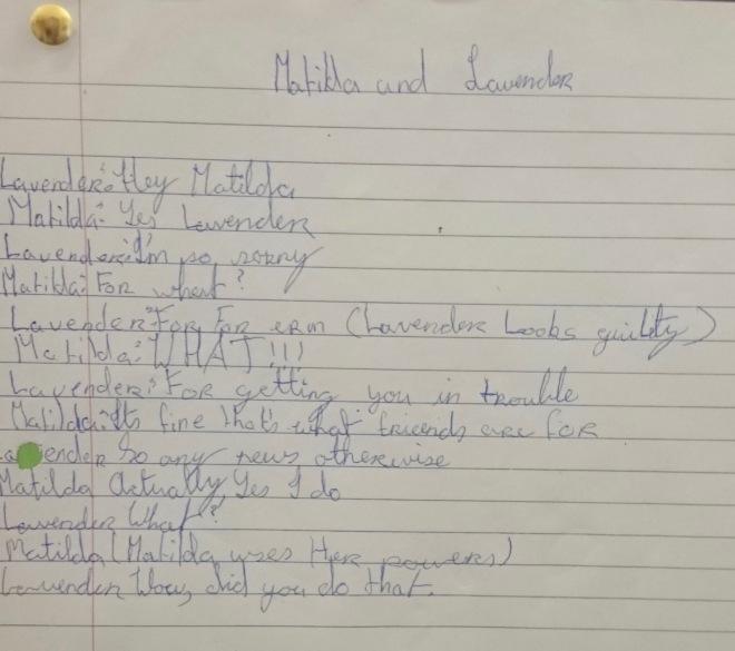 Script 1 Matilda
