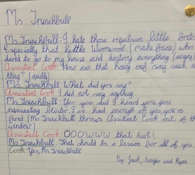 Script 3 Matilda